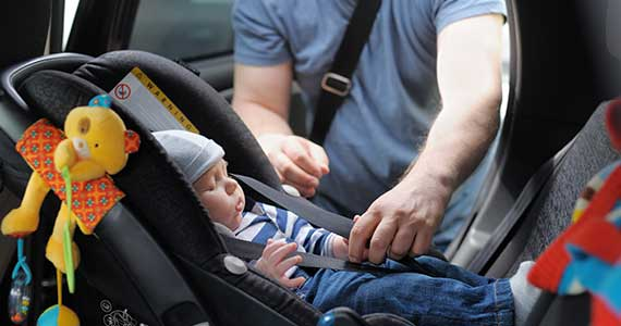 Tips for keeping your child safe in the car